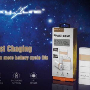 Sky Line Power Bank SL-Y302(5200mah)